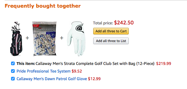 Amazon Recommended Products