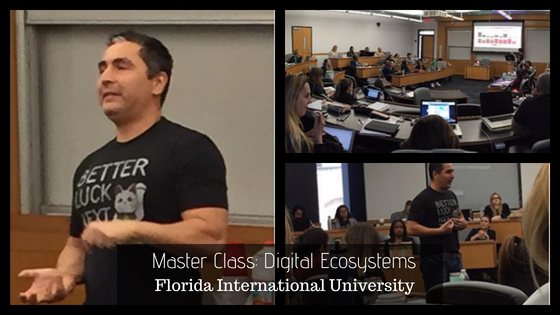 Hector Hernandez Digital Marketing Miami Speaking at FIU