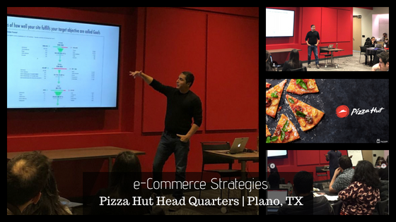 Hector Hernandez Digital Marketing Miami Speaking at Pizza Hut